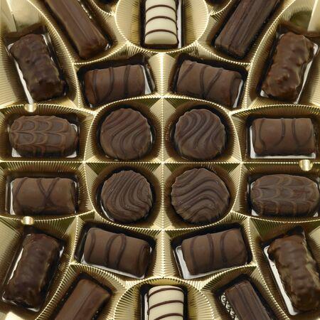 bodegones: cuadro de chocolate  Foto de archivo