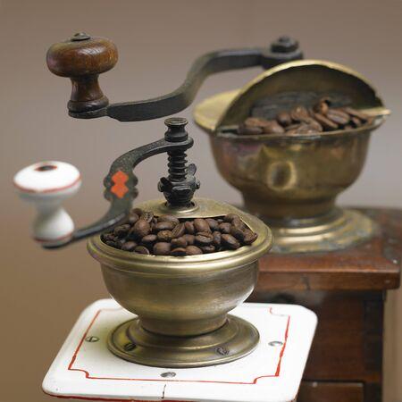 molinillos de café  Foto de archivo