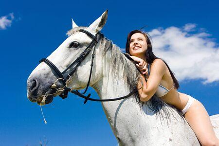 equestrian on horseback Stock Photo - 7420636