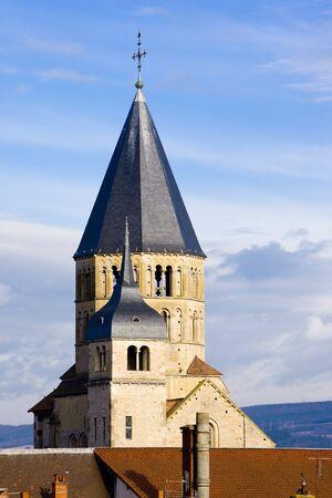 abbeys: Abbey of Cluny, Burgundy, France