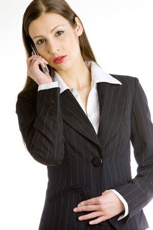 telephoning businesswoman Stock Photo - 7468848