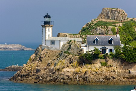 seascapes: lighthouse, Pointe de Pen al Lann, Brittany, France