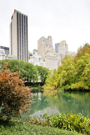 The Pond, Central Park, New York City, USA Stock Photo - 7469163