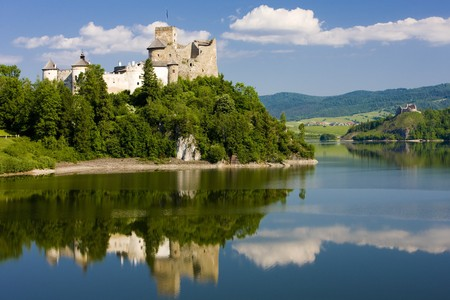 historical reflections: Niedzica Castle, Poland