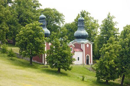 peregrinación: lugar de peregrinaci�n, Eslovaquia Banska Stiavnica