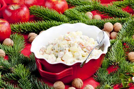 bodegones: Ensalada de patata tradicional de Navidad Checa