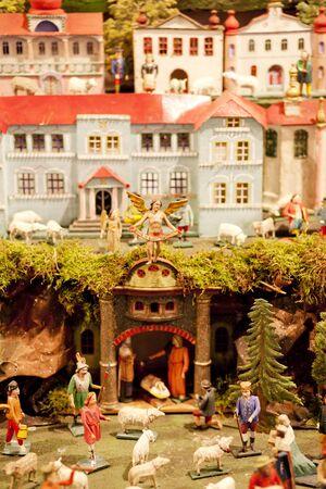christmas ground: crib