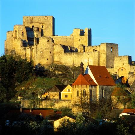 rabi: ruins of Rabi castle, Czech Republic