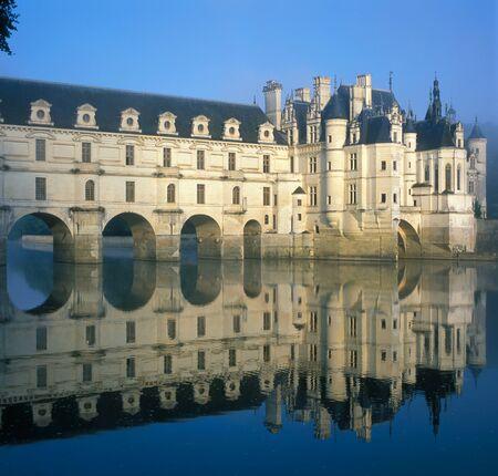 loire: Chenonceaux chateau, Loire Valley, France