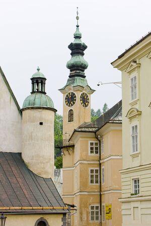 gildhall: Banska Stiavnica, Slovakia Stock Photo
