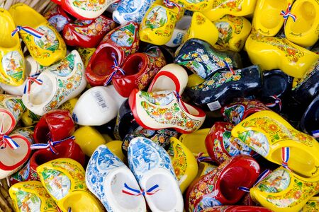 volendam: clogs, Volendam, Netherlands Stock Photo
