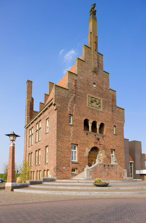 gildhalls: town hall, Medemblik, Netherlands Stock Photo