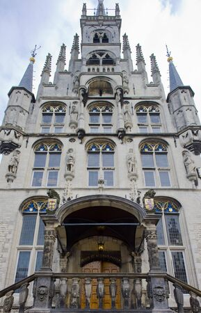 guildhalls: town hall, Gouda, Netherlands