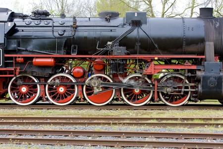 steam traction: steam locomotive, Veendam - Stadskanaal, Netherlands