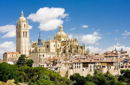 gothic build: Segovia, Castile and Leon, Spain