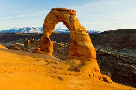 arches national park: Delicate Arch, Arches National Park, Utah, USA
