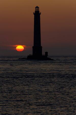 lighthouse, Cap de la Hague, Normandy, France Stock Photo - 7875748