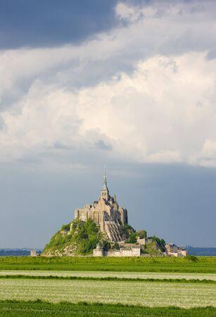 Mont-Saint-Michel, Normandy, France photo