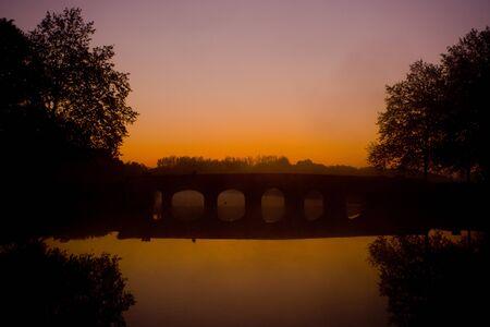 bridge, Chambord, Loir-et-Cher, Centre, France Stock Photo - 7875742