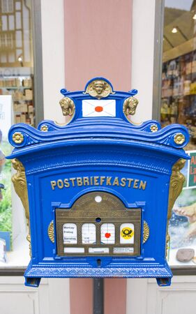 moseltal: letter box, Bernkastel, Rheinland Pfalz, Germany