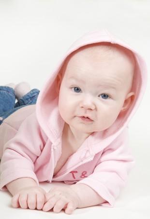 baby girl's portrait Stock Photo - 7875696
