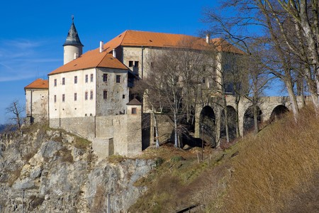 nad': Ledec nad Sazavou Castle, Czech Republic
