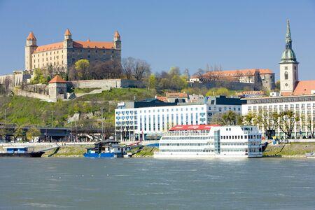 El castillo de Bratislava, Eslovaquia