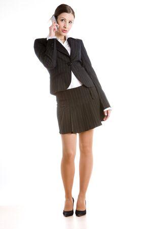 telephoning businesswoman Stock Photo - 7954905