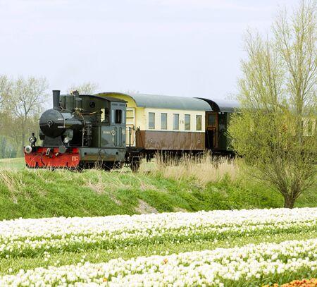 steam train, Hoorn - Medemblik, Noord Holland, Netherlands Stock Photo - 7976572
