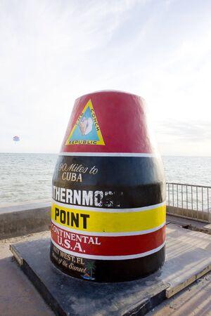Southernmost Point marker, Key West, Florida, USA photo