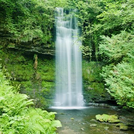 eire: Glencar Waterfall, County Leitrim, Ireland Stock Photo