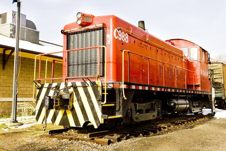 diesel locomotive, Colorado Railroad Museum, USA Stock Photo - 8134859