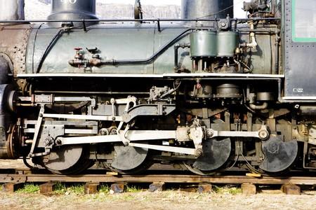 detail of steam locomotive, Colorado Railroad Museum, USA Stock Photo - 8134842