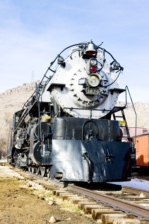 stem locomotive in Colorado Railroad Museum, USA Stock Photo - 8134846