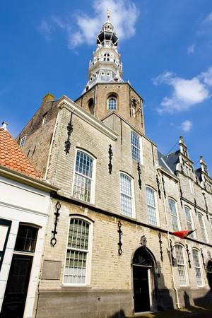 gildhalls: town hall, Zierikzee, Zeeland, Netherlands