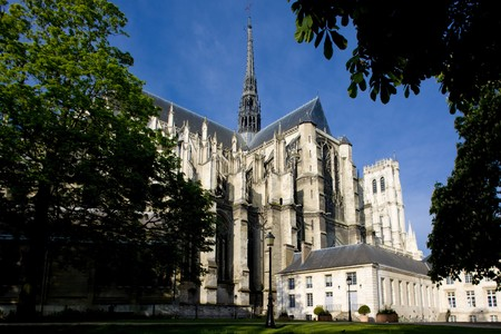world locations: Cathedral Notre Dame, Amiens, Picardy, France