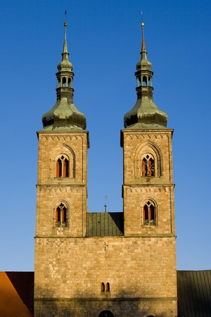friaries: Tepla Monastery, Czech Republic Stock Photo