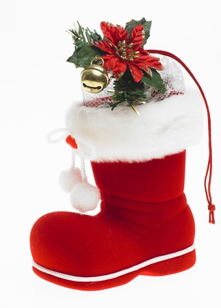 christmas ground: Christmas boot