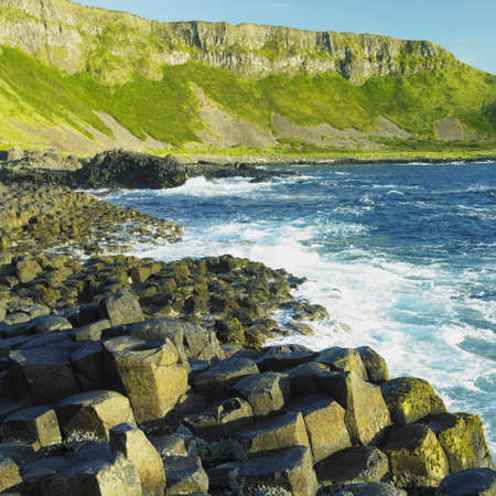 the silence of the world: Giants Causeway, County Antrim, Northern Ireland