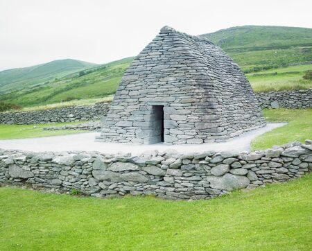 oratoria: Gallarus Oratory, Condado de Kerry, Irlanda