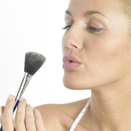 womans make up photo