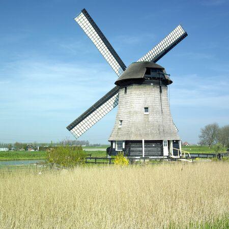 rustenburg: windmill near Rustenburg, Netherlands