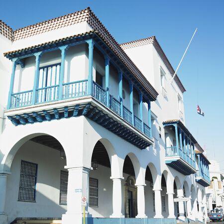 gildhalls: town hall, Parque C�spedes, Santiago de Cuba, Cuba