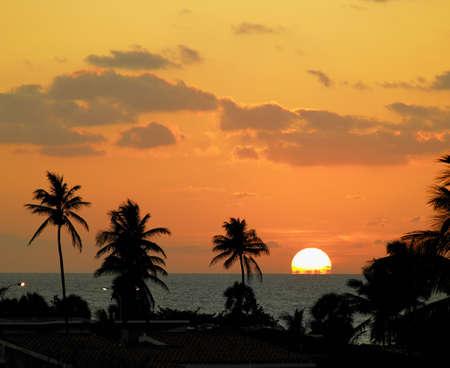 varadero: sunset, Varadero, Cuba