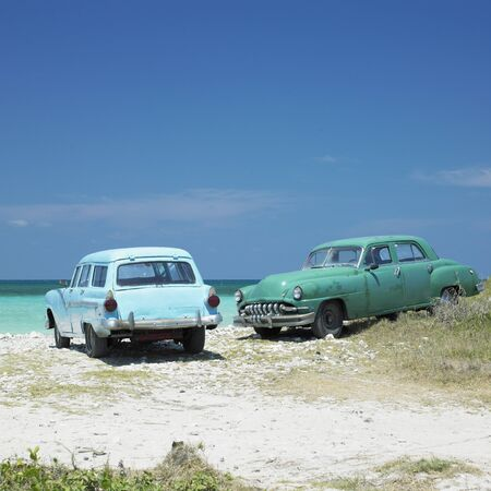 greater: old cars, Playa del Este, Havana Province, Cuba