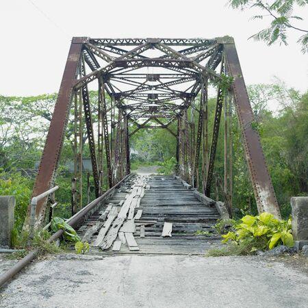 pinar: old bridge, San Diego de Los Banos, Pinar del Río Province, Cuba Stock Photo