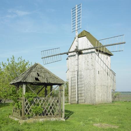 stary: windmill, Stary Poddvorov, Czech Republic