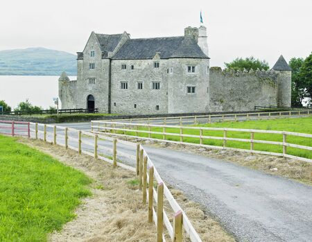 Parke''s Castle, County Leitrim, Ireland 写真素材
