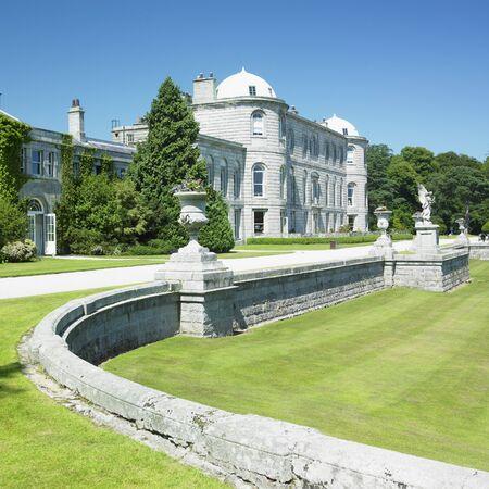 buidings: Powerscourt House, County Wicklow, Ireland Stock Photo