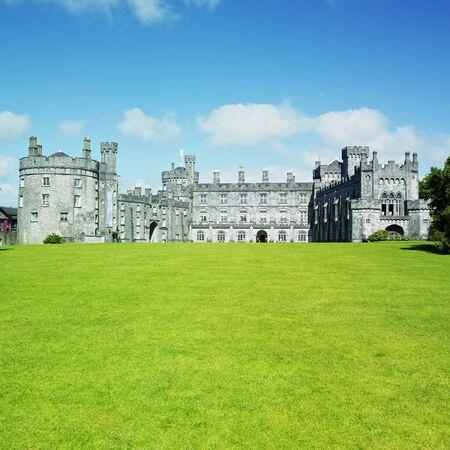 buidings: Kilkenny Castle, County Kilkenny, Ireland Stock Photo